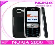 refurbished original nokia 2630 cell phone gsm mobile unlocked mp3 bluetooth video player free shipping.jpg from mp3 nokia video